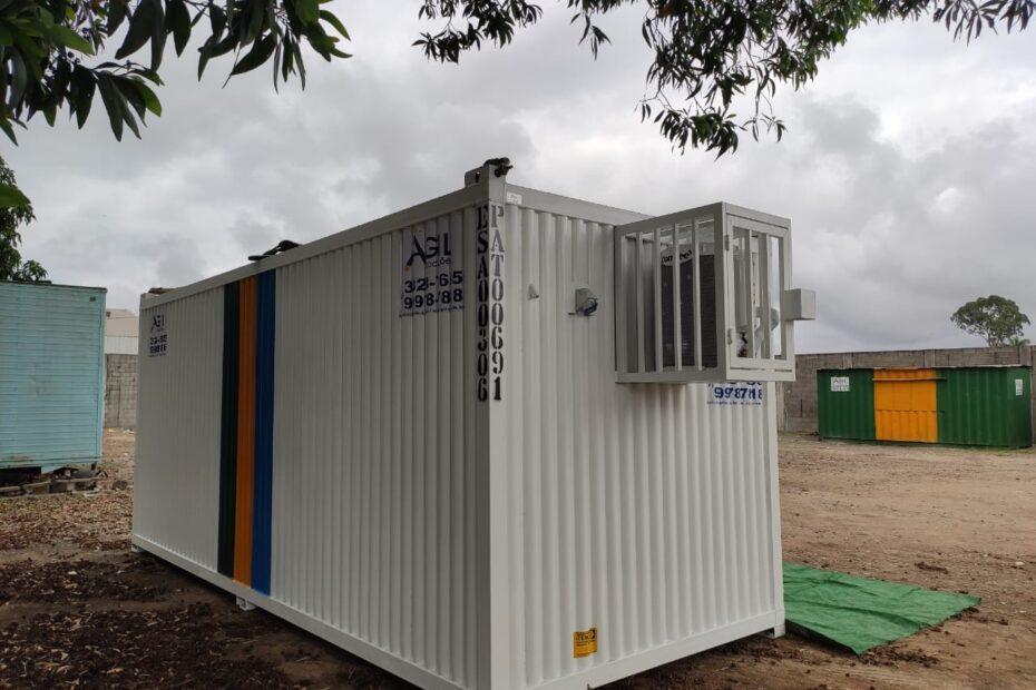 Locação container escritório