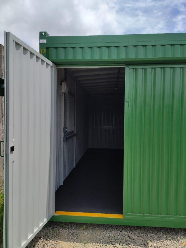 Locação container ferramentaria