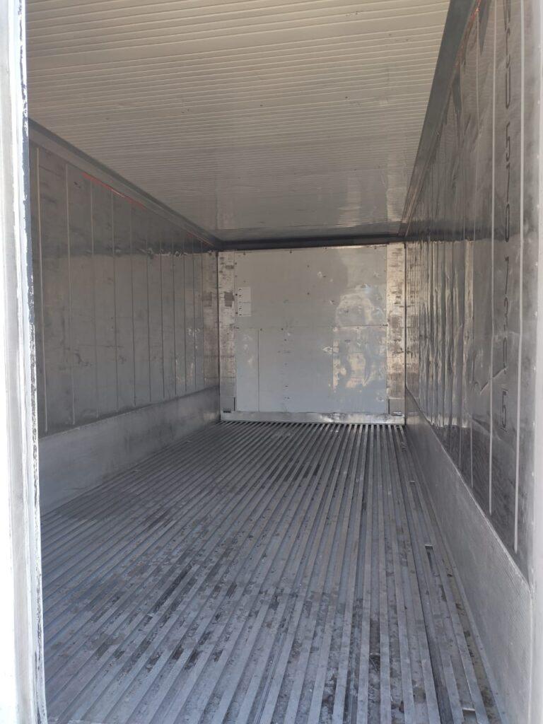 Locação container refrigerado